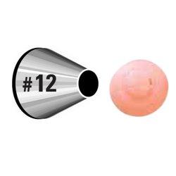 "NOZZLE Nº 12 WILTON "" ROUND "" ( 418-12 )"