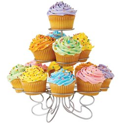 WILTON METAL STAND ( 307-831 ) FOR 13 CUPCAKES