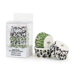 75 UNITS PANDA BEAR CAPSULES ( 5 X 3.2 CM. ) DECORATES ( 0339622 )