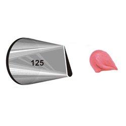 """NOZZLE Nº 125 WILTON """" CARDED FLOWER PETAL """" ( 418-125 )"""