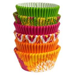 FLOWER MOTIF NEON CAPSULES 150 WILTON UNITS ( 415-2180 )
