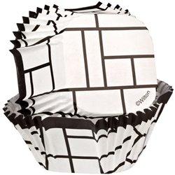 BLACK AND WHITE VICHY CAPSULES 24 WILTON UNITS ( 415-0667 )