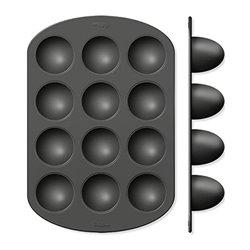 12 WILTON BREAKFAST BAKING PANS 15 CM ( 2105-8451 )