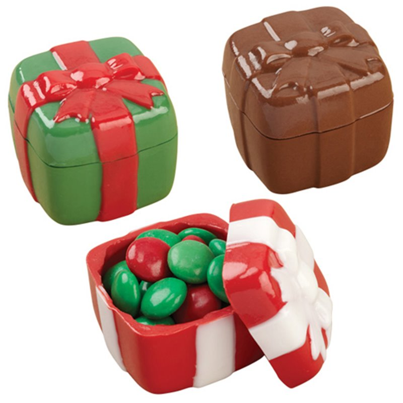 CHRISTMAS BOX MOLDS 3D WILTON ( 2115-0020 )