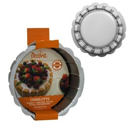 ROUND CAKE MOULD CHARLOTTE 20 X 7 CM. HEIGHT DECORATES ( 0070020 )