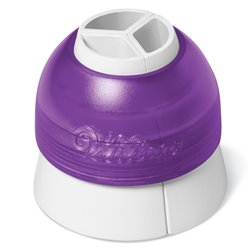 COLORSWIRL LARGE ADAPTER - TRICOLOR WILTON ( 411-1992 )