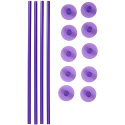 SUPPORT RODS AND COVERS FOR CAKES 14 WILTON UNITS ( 399-5004 )