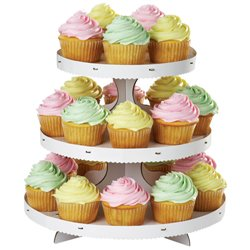 THREE FLOOR STAND FOR WILTON CUPCAKES ( 1512-127 )