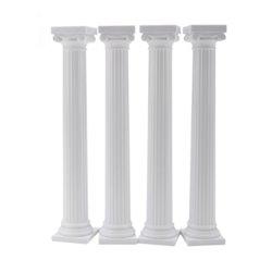 SET 4 GREEK PILLARS 12.7 CM. WILTON ( 303-3703 )