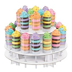 "STAND / DISPLAY FOR CAKE POPS "" 2 HEIGHTS "" WILTON ( 1512-0719 )"