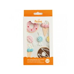 7 UNITS OF CANDY SUGAR DECORATIONS ( 0500397 )