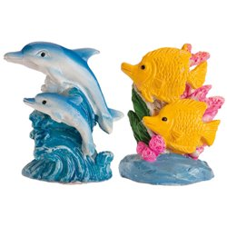 RESIN FIGURES ROSCON 3D DOLPHINS 3 CM. 50 UNITS ( 321267 )