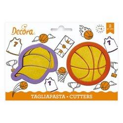 SET 2 PLASTIC BASKET CUTTERS ( 0255049 )