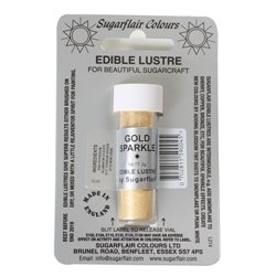 GOLD SPARKLE POWDER SUGARFLAIR 2 GRAM ( E106 )