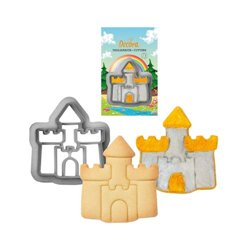 CUTTER OF PLASTIC CASTLE DECORATES ( 0255058 )