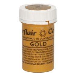 DYE SUGARFLAIR GOLD 25 GRAMS ( A702 )