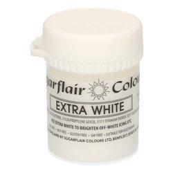 EXTRA WHITE SUGARFLAIR 42 GRAM JAR ( J401 ) GLUTEN FREE