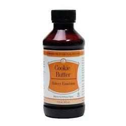 BAKERY EMULSION COOKIE BUTTER ( GALLETA DE MANTEQUILLA ) LORANN 118.3 ML. - SIN GLUTEN
