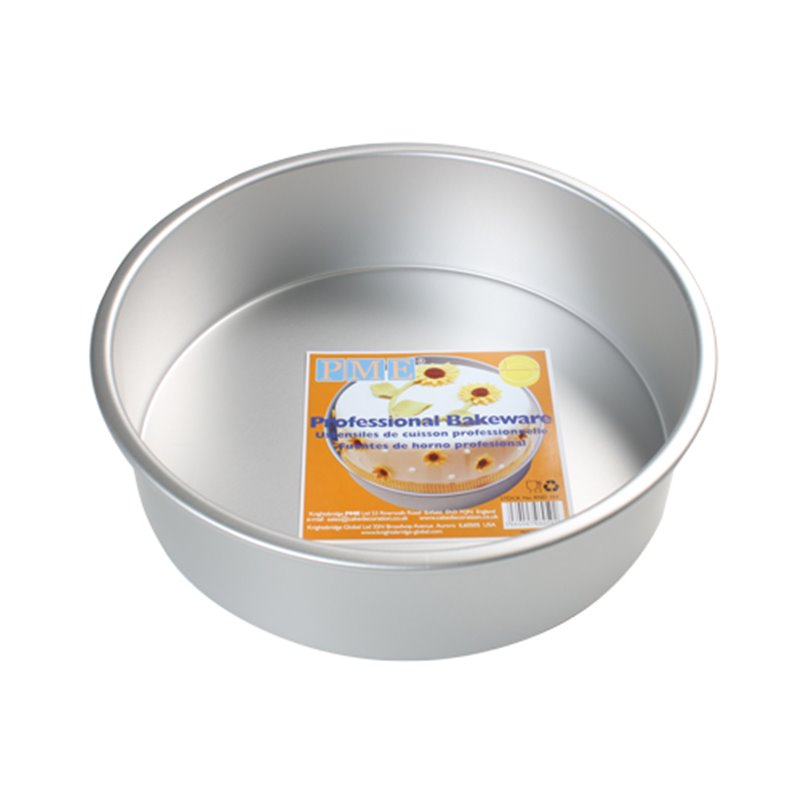 ROUND CAKE MOULD 10 X 7.5 CM. HEIGHT PME ( RND043 )