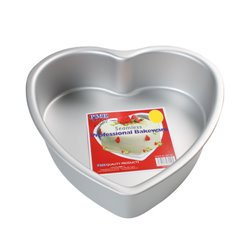 HEART CAKE MOULD 35,5 X 7.5 CM. HEIGHT PME ( HRT143 )