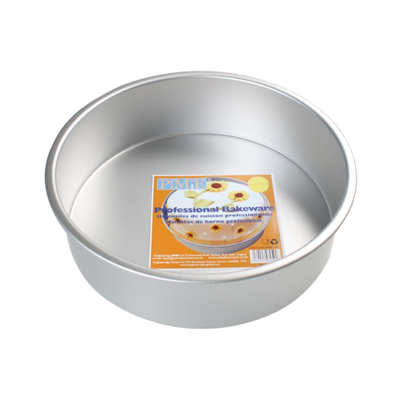 ROUND CAKE MOULD 17.5 X 7.5 CM. HEIGHT PME ( RND073 )