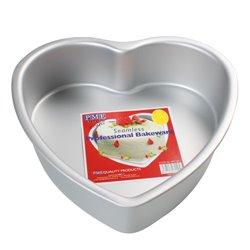 HEART CAKE MOULD 30 X 7.5 CM. PME ( HRT123 )