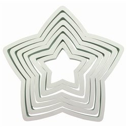 SET 6 PME STAR CUTTERS ( PNS6 )