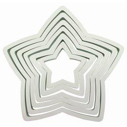 SET 6 PME STAR CUTTERS ( PNS6 )