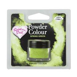 POWDER COLOUR SPRING GREEN 3 GRAMS RAINBOW DUST