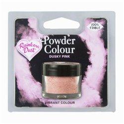 POWDER COLOUR DUSKY PINK 4 GRAMS RAINBOW DUST