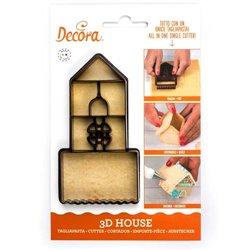 HOUSE 3D DECOR PLASTIC CUTTER ( 0255050 )