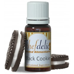 BLACK BISCUIT FLAVOUR CONCENTRATE 10 ML. CHEFDELICE ( 1058 )