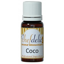 COCONUT FLAVOUR CONCENTRATE 10 ML. CHEFDELICE ( 1043 )
