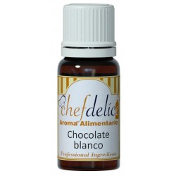 WHITE CHOCOLATE FLAVOUR CONCENTRATE 10 ML. CHEFDELICE (1036)