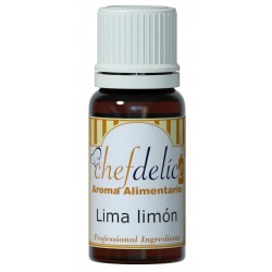 LEMON-LIME FLAVOUR CONCENTRATE 10 ML. CHEFDELICE ( 1008 )