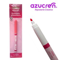 AZUCREN PINK FOOD PEN - FINE POINT FOR HANGING