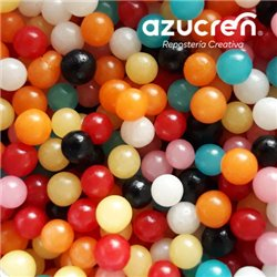 PEARLS SEVERAL COLORS (WITHOUT LUSTER) AZUCREN 4 MM. 1 KG.