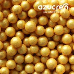 AZUCREN PEARLS GOLD 7 MM. AZUCREN CAN 900 GRAMS