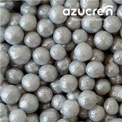 AZUCREN PEARLS SILVER 7 MM. AZUCREN CAN 900 GRAMS