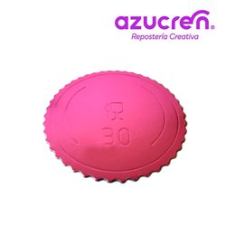 EXTRA STRONG PINK DISC 30 X 3 MM. HEIGHT REF. SUGAR ( WITHOUT FILM )
