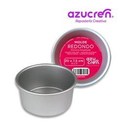 ELOXIERTE RUNDE KUCHENFORM 20 X 7,5 CM. AZUCREN