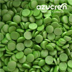 SUGAR GREEN CONFETTI 700 GRAMS