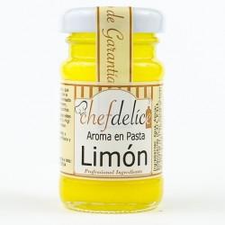 LEMON IN PASTE EMULSION 50 GRAMS CHEFDELICE ( 2504 )
