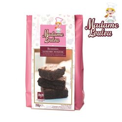 GLUTEN-FREE BROWNIE PREPARATION 350 GRAMS MADAME LOULOU ( ML05335 )