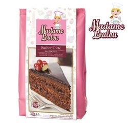 GLUTEN-FREE PREPARATION OF SACHER CAKE 350 GRAMS MADAME LOULOU ( ML005345 )