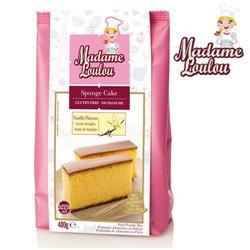 GLUTEN-FREE VANILLA SPONGE CAKE 400 G MADAME LOULOU ( ML6001-6 )