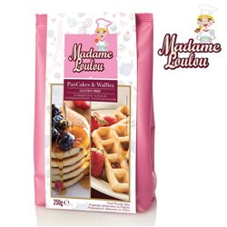 GLUTEN-FREE PREPARATION OF PANCAKES & WAFFLES 250 GRAMS MADAME LOULOU ( ML005330-6 )