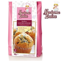 GLUTEN AND LACTOSE FREE MUFFIN PREPARATION 400 GRAMS MADAME LOULOU ( ML005312-6 )