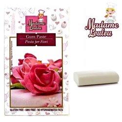 FLOWER PASTE ( GUM PASTE ) 200 GRAMS WHITE MADAME LOULOU ( ML1551 )