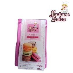 PINK GLUTEN-FREE MACARONI PREPARATION 300 GRAMS MADAME LOULOU ( ML5115-6 )